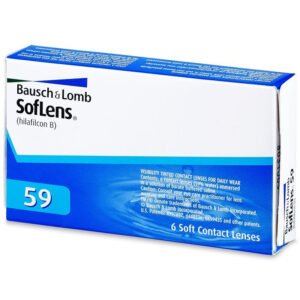BAUSCH & LOMB SOFLENS 59 6 pack