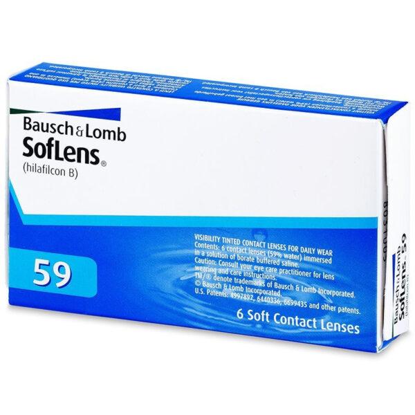 BAUSCH & LOMB SOFLENS 59 6 pack